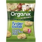 Organix Rondele Bio din Orez expandat cu aroma de mere
