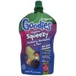 Organix Squeezy Piure Fructe Bio de Afine, coacaze, pere si banane