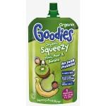 Organix Squeezy Piure Fructe Bio de Kiwi, pere si banane
