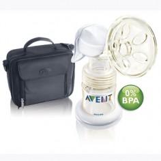 Philips Avent - Pompa manuala pentru san cu geanta termoizolanta