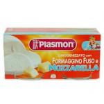 Plasmon branzica topita cu mozzarella 2x80 gr, de la 4 luni