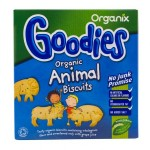 Biscuiti organici in forma de animale 12+ Goodies 100g Organix