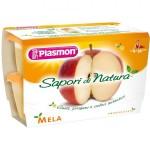 Piure pulpa Plasmon, Fructe mixte, 100% fruct, fara gluten, 100 g, 6+