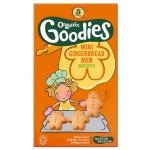 Biscuiti cu ghimbir Organix Goodies, 5x25 g, de la 1 an
