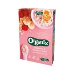 Cereale musli bio 10+ cu banane si zmeura 200g Organix