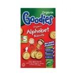 Biscuiti alfabet 12+ bio Goodies 125g Organix