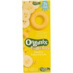 Biscuiti pentru bebelusi mai mari de 7 luni cu banane 54g Organix