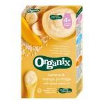 Organix Cereale Orez integral, Porumb, Banane, Mango 4 luni+