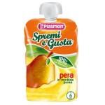 Piure pulpa Plasmon, Pere,100% fruct, fara gluten, 100 g, 4+