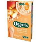 Cereale Organix Muesli, Banane, Piersici, Mere, 200 g, de la 10 luni