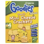 Snack Organix Goodies Crackers, Mini Cheese, 4 x 20 g, de la 1 an