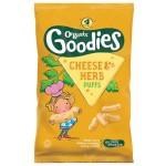 Snack Organix Goodies, Porumb expandat si Cascaval, 4x15 g, de la 1 an