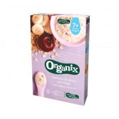 Cereale 7+ bio cu banane si prune 200g Organix