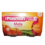 Piure Plasmon, Mere, fara gluten, 2x104 g, 4+