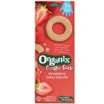 Biscuiti Organix Finger pentru Bebelusi, Capsuni, de la 7 luni