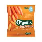 Stixuri din porumb expandat si morcovi 7+ bio Finger Foods 20g Organix
