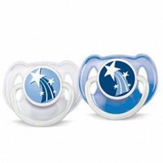 Philips Avent - Suzete de noapte 6-18 luni fara BPA