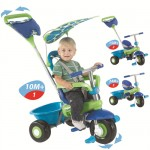 Smart Trike - Fresh 3 in 1 albastru/verde