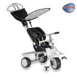 Smart Trike - Tricicleta Recliner Stroller 4 in 1 Negru