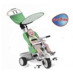Smart trike - Tricicleta Recliner Stroller 4 in 1 Verde