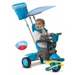 Smart Trike - Tricicleta Spirit 4 in 1 Dolphin - Touch Steering