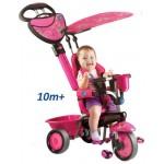 Smart Trike - Tricicleta Smart Trike 3 in 1 Zoo Butterfly