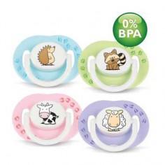 Philips Avent - Suzete Design 0% BPA +3 luni, 2 buc