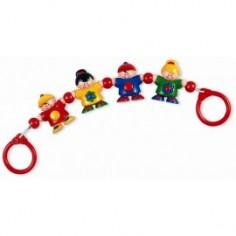 Tolo Toys - Jucarie pentru carucior Micutii mei Prieteni