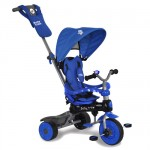 Baby Trike - Tricicleta Baby Trike 4 in1 Hippo Blue
