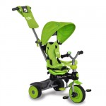 Baby Trike - Tricicleta Baby Trike 4 in1 Dino Green