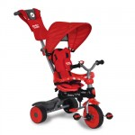 Baby Trike - Tricicleta Baby Trike 4 in1 Crab Red