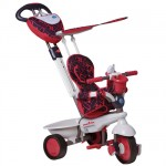 Smart Trike - Tricicleta Dream 4 in 1 Red - Touch Steering
