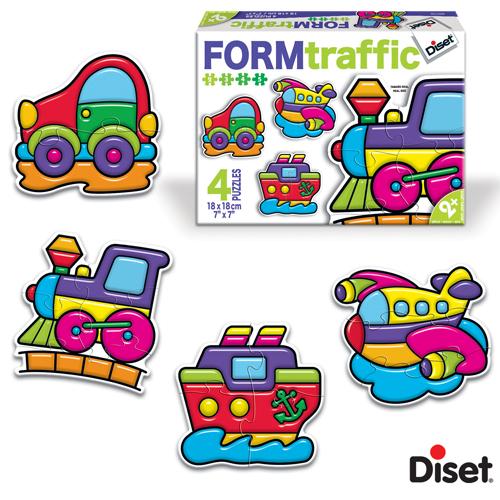 Diset - Puzzle Trafic