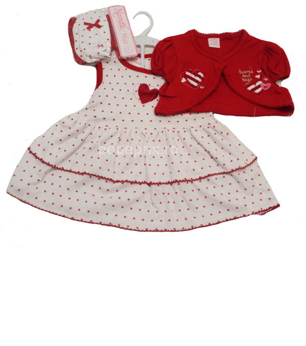 Rochita bebe Angel Red