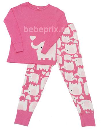 Carters - Costumas Elephant Pink