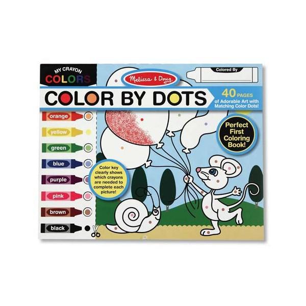 Melissa & Doug - Bloc cu desene de colorat