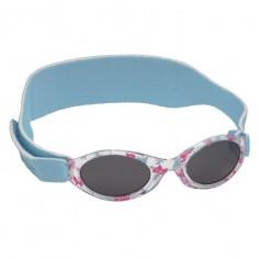 My First Shades - Ochelari de soare cu rama fluturi roz/bleu si banda bleu 2-4 ani