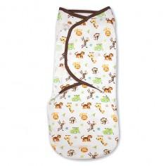 Summer Infant - 55856 Sistem de infasare pentru bebelusi Jungle, 0-3 luni