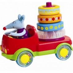Taf Toys - Jucarie multifunctionala Camionul piramida