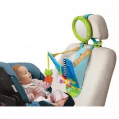 Taf Toys - Jucarie auto Petrecerea broscutei cu oglinda retrovizoare