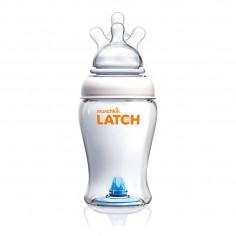 Munchkin LATCH - Biberon cu Supapa Anticolici , 240 ml, 0+