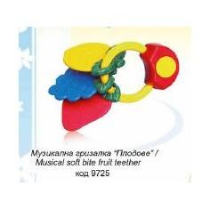 Baby Care - Jucarie muzicala Fructa