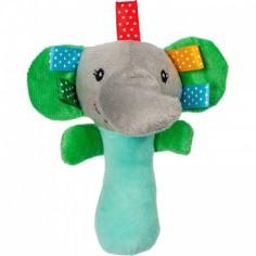 Akuku - Jucarie din plus zornaitoare Elefant-A0350