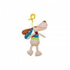 Akuku - Jucarie copii din plus cu clips DOG-A0390