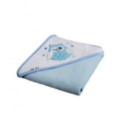 Akuku - Prosop de baie cu gluga blue - A1245