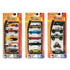 Matchbox - Set 5 masini colectie