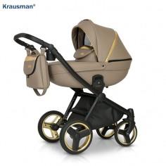 Krausman - Carucior 3 in 1 Prime Mirage Beige Gold