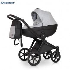 Krausman - Carucior 3 in 1 Prime Mirage Grey