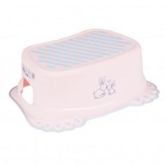 Inaltator anti-derapant pentru toaleta si chiuveta Little bunnies Roz