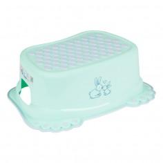 Inaltator anti-derapant pentru toaleta si chiuveta Little bunnies Mint
